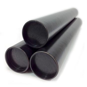 Black Card Postal Tube A0 940 x 102mm x 3mm thick