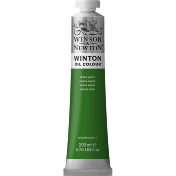 Winton Oil Colour 200ml Terre Verte