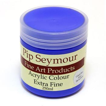 Pip Seymour Acrylic Cobalt Blue Hue 250ml (S1)