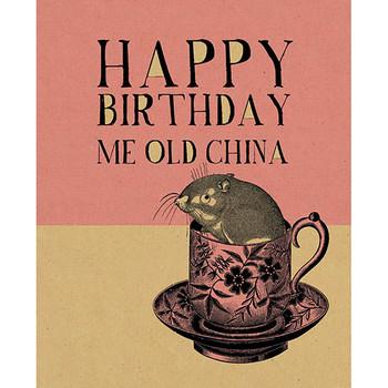 Card - Happy Birthday China
