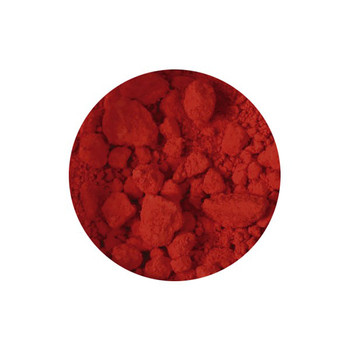 Dry Pigments Cadmium Red - 100g in clear 200ml pot