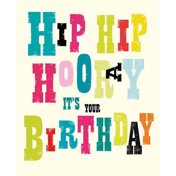 Card - Hip Hip Birthday