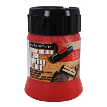 Water Soluble Block Printing Ink 250ml Brill Red
