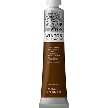 Winton Oil Colour 200ml Burnt Umber