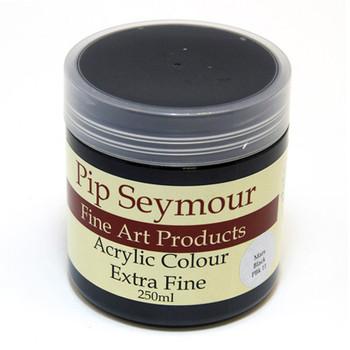 Pip Seymour Acrylic Mars Black 250ml (S1)