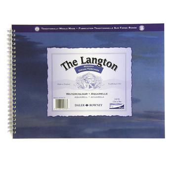 Langton Spiral Bound Rough 300gsm (140lb) 12 x 9
