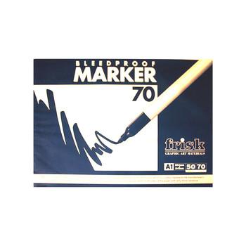 Frisk Bleedproof Marker Pad 70gsm A1 50s