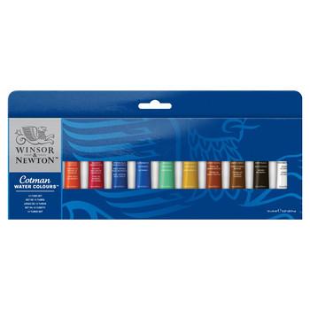 Cotman Watercolour 12 Tube set 12 X 8ml