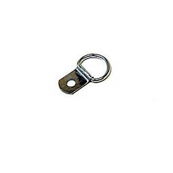 Single Hole D-Rings (Pack Of 10)