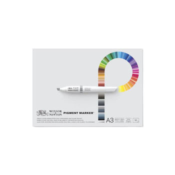 Winsor & Newton Pigment Marker Pad - A3