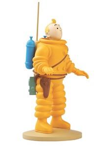 Tintin Resin Figurine Tintin Cosmonaut Image