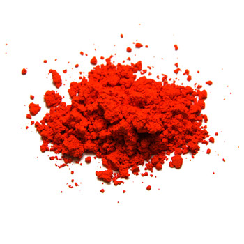 Dry Pigments Lead Red (Mimium) - 100g in clear 200ml pot
