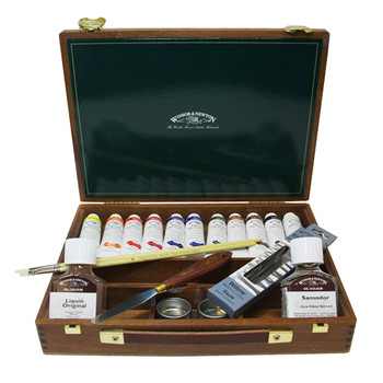 Artists' Oil Colour Mayfair Wood Box