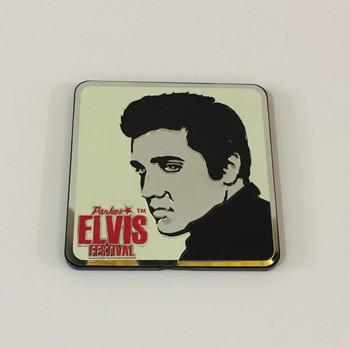 Elvis Laser Foil Magnet