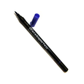 Art & Graphic Twin Tip Marker Blue Grey