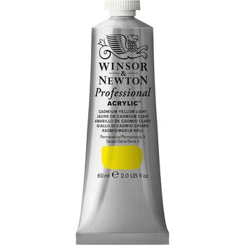 Artists' Acrylic 60ml Cadmium Yellow Light