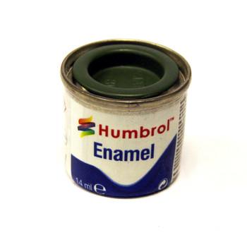 Humbrol Enamel Matt Grass Green 14ml