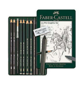 Faber Castell Pitt Monochrome Graphite Set 11