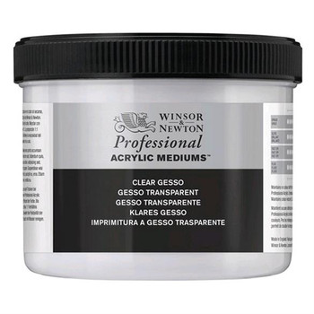 Clear Gesso 1 Litre