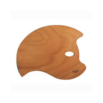 DISC Mabef Bat Wooden Palette 35 X 50cms