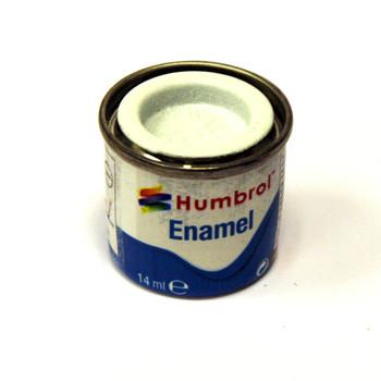 Humbrol Enamel Satin White 14ml