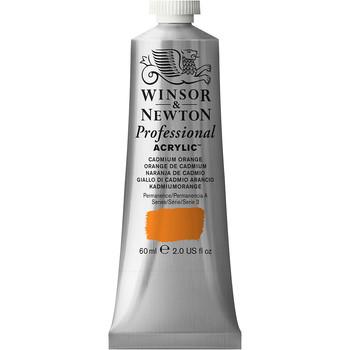 Artists' Acrylic 60ml Cadmium Orange