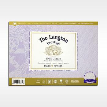 Langton Prestige Block Rough 300gsm (140lb) 14 x 10 12 Sheets