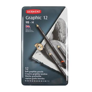 Derwent Graphic 12 Tin Soft