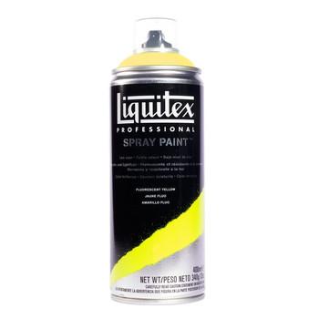 Liquitex spray fluorescent yellow