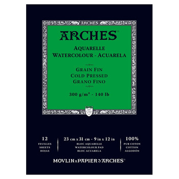 Arches Glued Pad (NOT) 300gsm 23x31cm