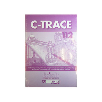 Frisk C-Trace Pad 112gsm A2 30 Sheets