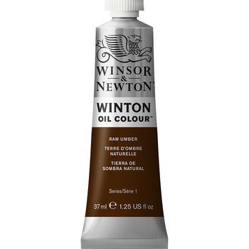 Winton Oil Colour 37ml Raw Umber