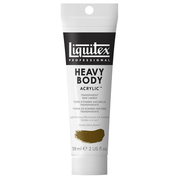 Liquitex Heavy Body Acrylic 59ml Transparent Raw Umber