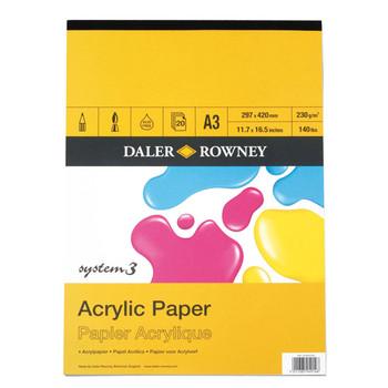 System 3 Acrylic Pad A3