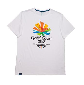 Gold Coast 2018 Men's Emblem T-Shirt White Image
