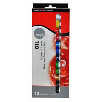 Simply Oil 12X12ml Set