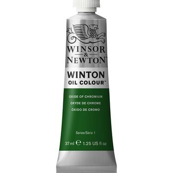 Winton Oil Colour 37ml Oxide Chrome