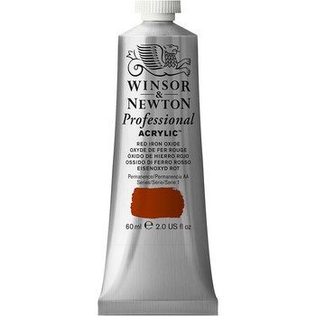 Artists' Acrylic 60ml Red Iron Oxide