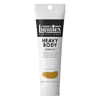 Liquitex Heavy Body Acrylic 59ml Iridescent Rich Gold