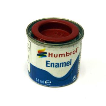 Humbrol Enamel Matt Scarlet 14ml