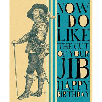 Card - Cut of your jib