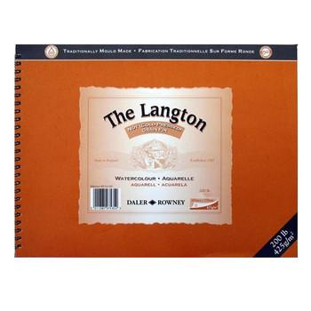 Langton Spiral Bound (NOT) 425gsm (200lb) 14 x 10