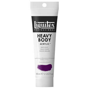 Liquitex Heavy Body Acrylic 59ml Deep Violet