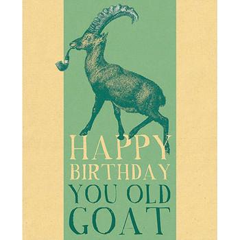 Card - Happy Birthday goat