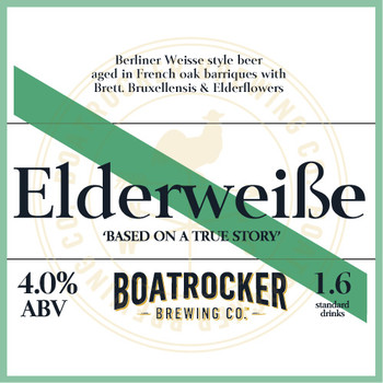 ELDERWEISSE 500ml bottle