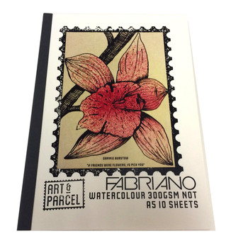 Fabriano Watercolour pad 300gsm A5 (10 sheets)