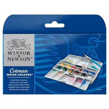 New Cotman Watercolour Pocket Plus
