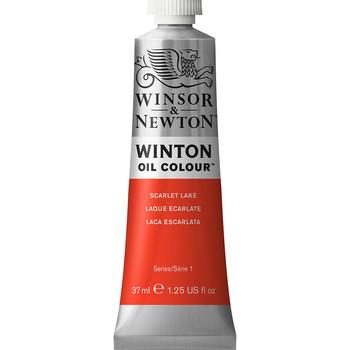 Winton Oil Colour 37ml Scarlet Lake