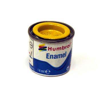 Humbrol Enamel Yellow 14ml