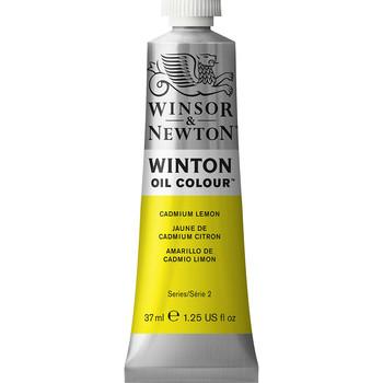 Winton Oil Colour 37ml Cadmium Lemon Hue